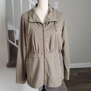 Eddie Bauer Full Zip Cotton Utility Style Jacket